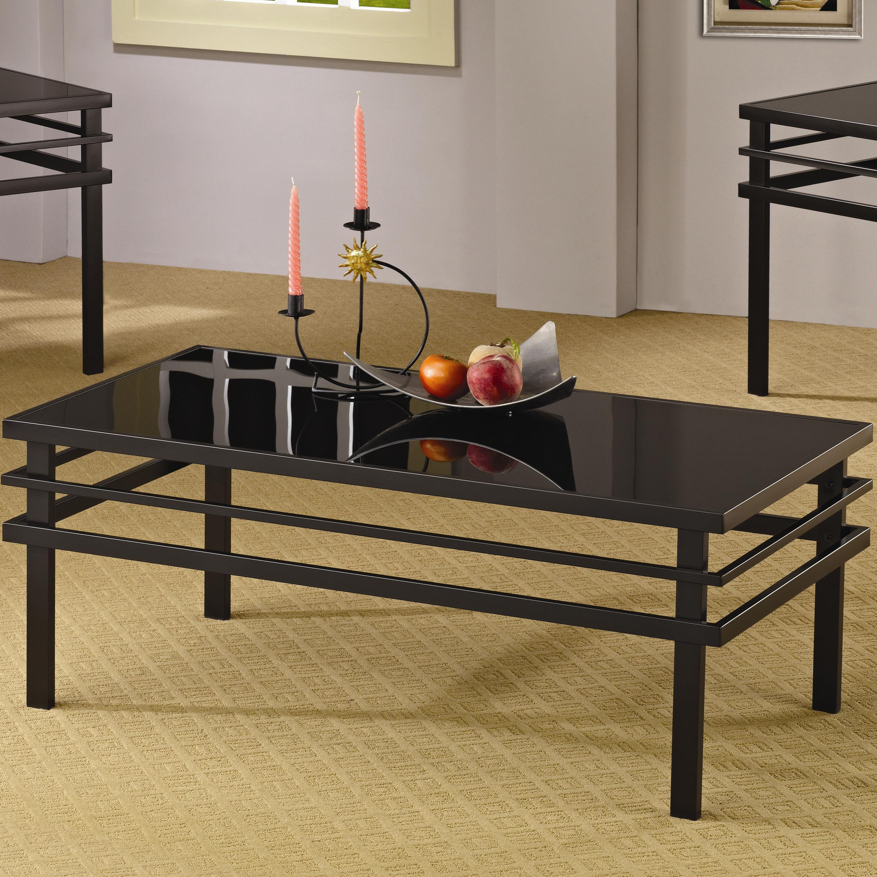 3 Piece Occasional Table Sets Modern Coffee Table And End