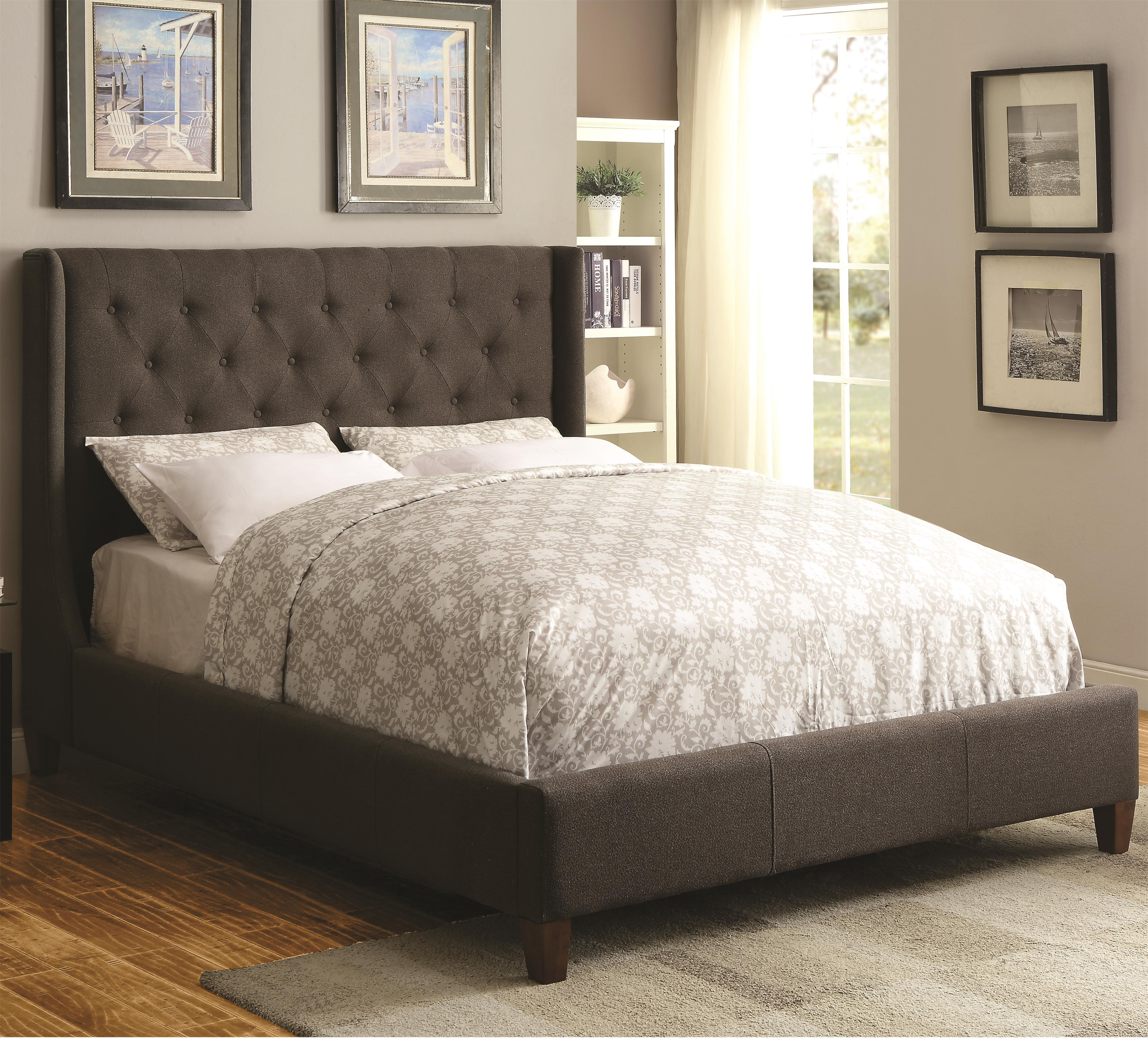 Upholstered Beds Upholstered King Bed With Tall Tufted Headboard Quality Furniture At Affordable Prices In Philadelphia Main Line Pa
