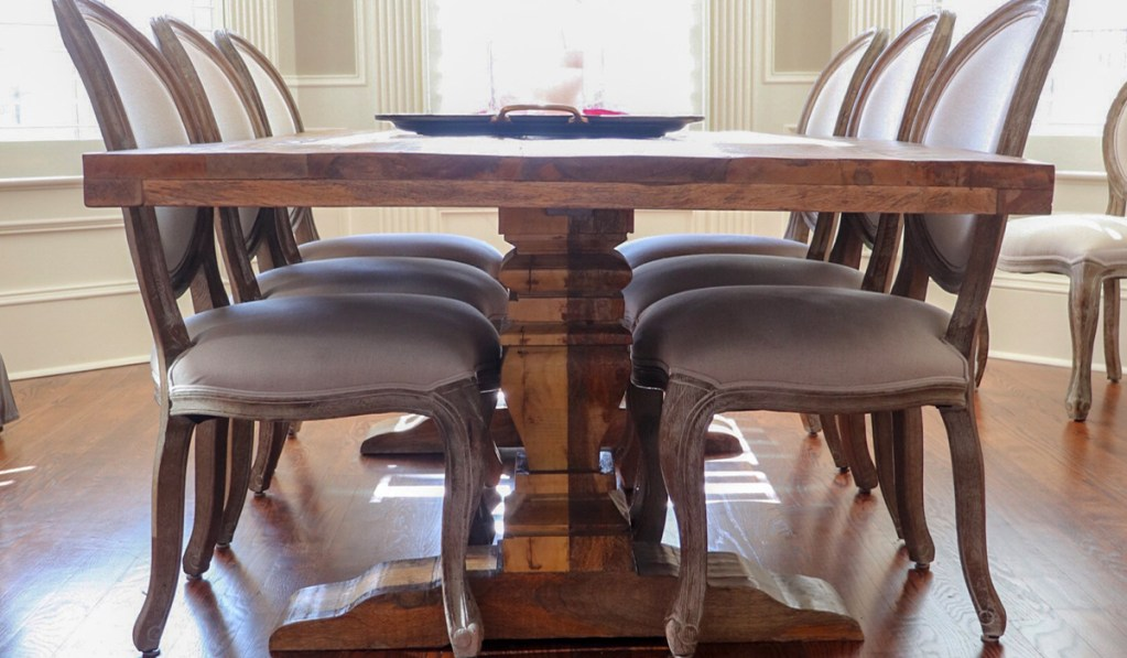 Dining Room Rustic Wooden Table