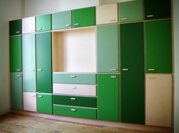3 tinten groen