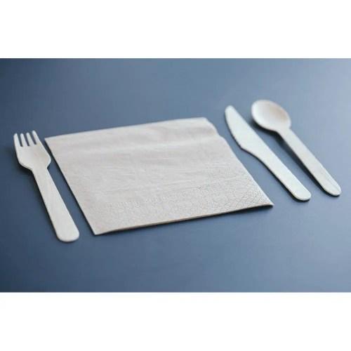 Kit 3 couverts avec serviette