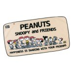 SNOOPY PEANUTS fleece cape BOOK【付録】スヌーピー フリースケープ