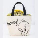 Tweety and Looney Tunes 【付録】 トゥイーティー 巾着ランチトート