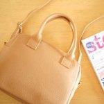 【開封レビュー】 steady. ステディ 2017年 2月号 付録 ナチュラルビューティーベーシック ボストン型バッグ