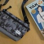 【開封レビュー】 YAKPAK 2WAY ショルダーバッグ BOOK ブラックカモver. 付録 ヤックパック 2WAYショルダーバッグ ブラックカモ柄バージョン
