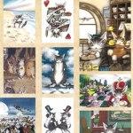 猫のダヤン 100 POSTCARDS BOOK 【付録】 ダヤン ポストカード 100枚セット