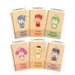 おそ松さん×サンリオキャラクターズ SPECIAL BOOK 【付録】 おそ松さん×サンリオキャラクターズ ミニノート6冊セット