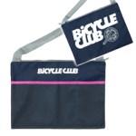 BICYCLE CLUB バイシクルクラブ 2017年 8月号 【付録】 メッシュポケット付き ファスナーサコッシュ