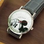 SPRiNG スプリング 2017年 10月号 【付録】 ミッキーマウス クロコレザー調 腕時計