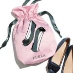 25ans ヴァンサンカン 2017年 11月号 【付録】 FURLA フルラ シューズバッグ