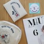 【開封レビュー】 otona MUSE オトナミューズ  2018年 6月号 付録 SURF MICKEY KAMAKURA 大人の小物セット