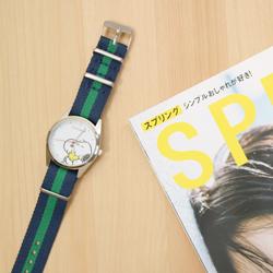 【開封レビュー】 SPRiNG スプリング 2018年 7月号 付録 HAPPY スヌーピー 腕時計