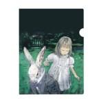 MOE モエ 2018年 10月号 【付録】 酒井駒子さん 「不思議の国のアリス」クリアファイル