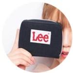 Popteen ポップティーン 2018年 11月号 【付録】 Lee ロゴ二つ折り財布