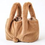 うさぎみたいなしっぽ付きファーBag Book 【付録】 うさぎしっぽ付き ファーバッグ