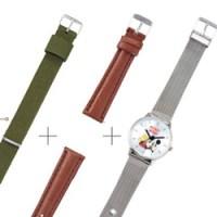 <予告> SPRiNG スプリング 2019年 11月号 増刊 【付録】 ミッキーマウス 腕時計、替えベルト2本(ナイロンベルト、レザー調)