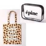 épine tote bag & pouch book 【付録】 レオパード柄トートバッグ、クリアポーチ