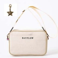 BAYFLOW LOGO SHOULDER BAG BOOK IVORY 【付録】 ショルダーバッグ
