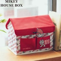 <予告> リンネル 2020年 5月号 【付録】 リサ・ラーソン  マイキーのハウス形  収納BOX