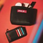 <予告> smart スマート 2020年 6月号 増刊号 【付録】 ミルクフェド  高見えレザー製 カバンの整理に最適なポーチ&カードケース2点セット