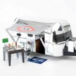 所ジョージの世田谷ベース VOL.43 【付録】 組み立て式 所さんのキッチンカー