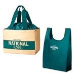 NATIONAL AZABU 保冷もできるショッピングバッグ&極小にまとまるエコバッグBOOK 【付録】 ナショナル麻布 保冷ショッピングバッグ、エコバッグ