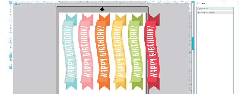 How to change the color of print and cut files in Silhouette Studio - Furrow and Feather