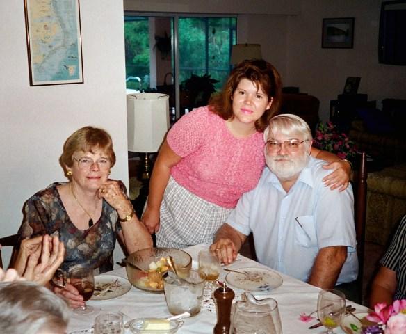 Mom, Elizabeth, and Dad