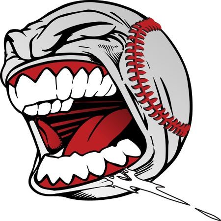 Screaming baseball