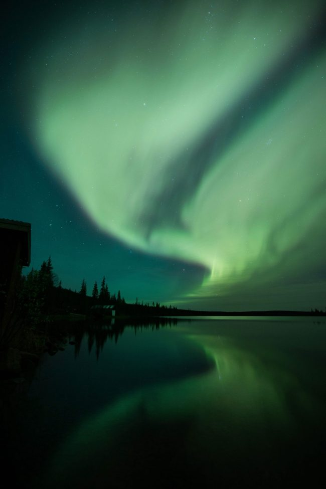 Northern lights - Swedish lapland