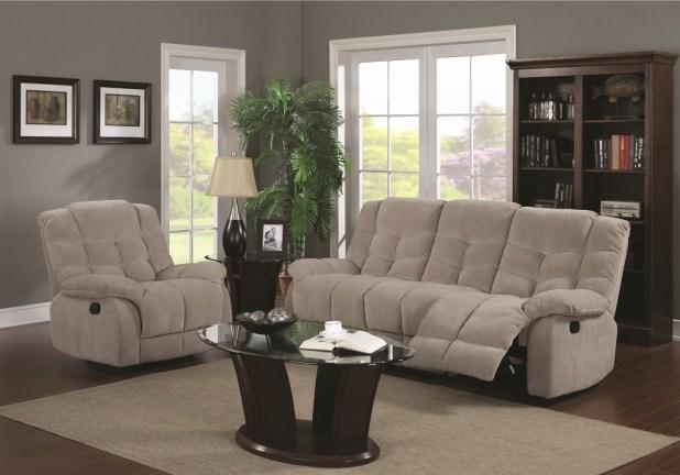 recliner fabric sofas
