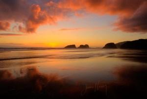Receding Tide, Canon Beach