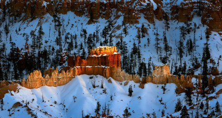 Bryce Winter Sunset 1