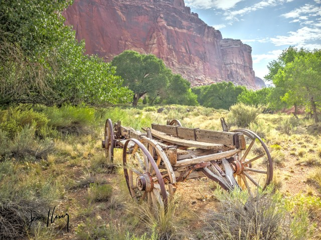 Farm Wagon Capitol Reef