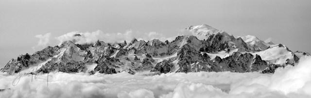 Mont Blanc Massif med WM