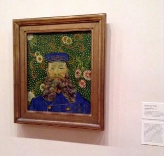 Retrato del cartero Joseph Roulin, Van Gogh