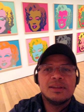 Selfie Warhola
