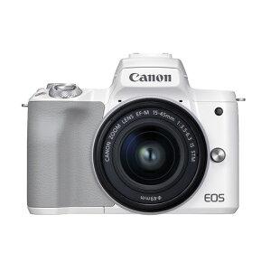 キヤノンミラーレスカメラ EOSKissM2・レンズキット(ホワイト) イメージ