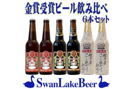 スワンレイクビール 金賞セット  イメージ