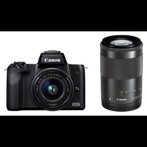 キヤノンミラーレスカメラ(EOS Kiss M・ダブルズームキット・ブラック) イメージ