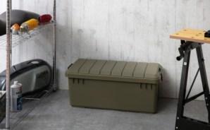 アウトドア OD BOX(ODB-800)カーキ×4個セット