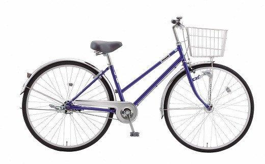 内装3段オートライト付き自転車 フィフスアベニュー27型ナイトブルー イメージ