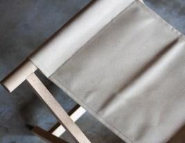 杉工場 折りたたみイス(ホワイト)