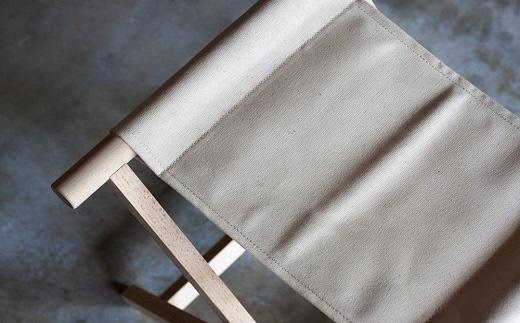 杉工場 折りたたみイス(ホワイト) イメージ