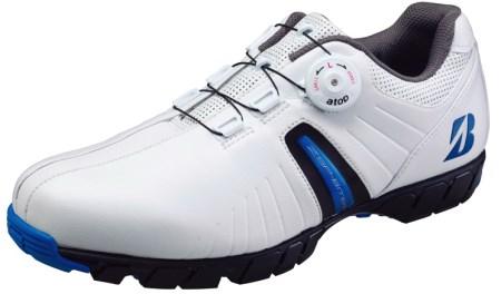 ブリヂストン ゴルフシューズ SHG750(ホワイトブルー) イメージ