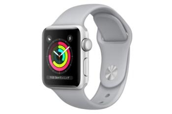 Apple Watch Series3 GPS ケースサイズ42ミリ シルバー