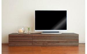 TVボード「アルモニア150L」 BE-1402 大川家具 寄附金額140,000円(福岡県大木町)