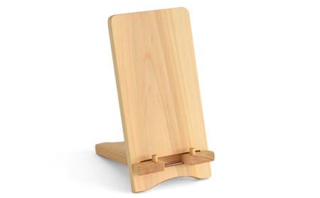 静岡県浜松市 iPad stand(ひのき) イメージ