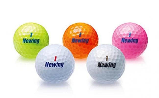 ゴルフボール3ダース(NEWING super soft feel カラー:ホワイト) イメージ
