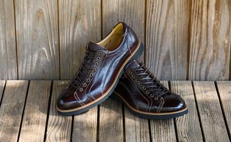 紳士革靴 YA3300倭イズム鹿革シューズ ダークブラウン 26.0cm  イメージ